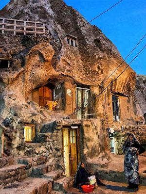 روستای صخره ای کندوان